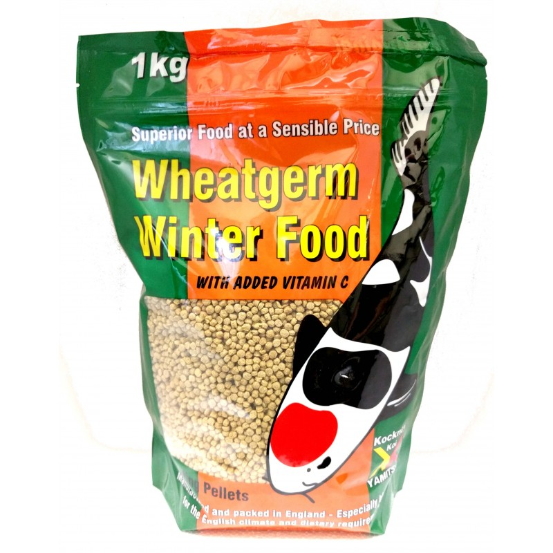 Kockney Koi Floating Winter Wheatgerm 1Kg 3mm